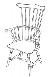 The Comb-back Windsor Chair