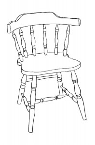 The Firehouse Windsor Chair