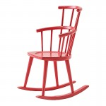 The W High Back Rocking Chair