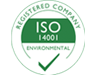 ISO 14001 Registered Company