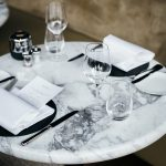 Round Marble Table Top - Set
