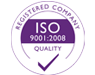 ISO 9001 - 2008 Registered company