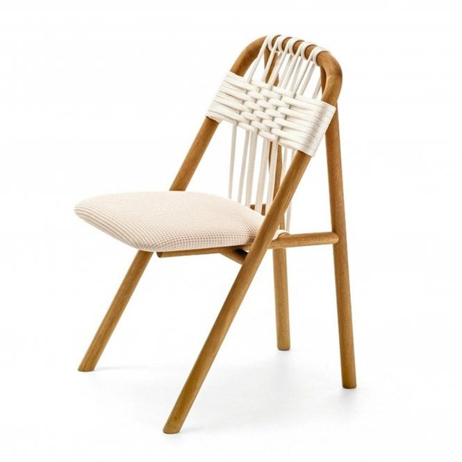 Pleat Outdoor Side Chair