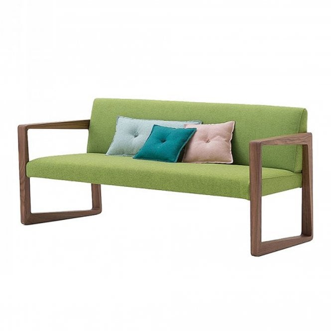 Askew Sofa - stained beech - COM