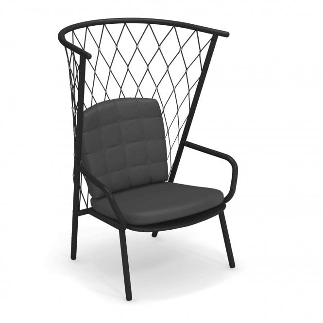 Nef High Back Lounge Chair