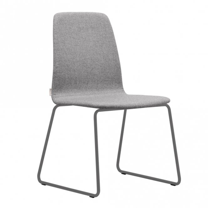Telca Soft Side Chair - Metal