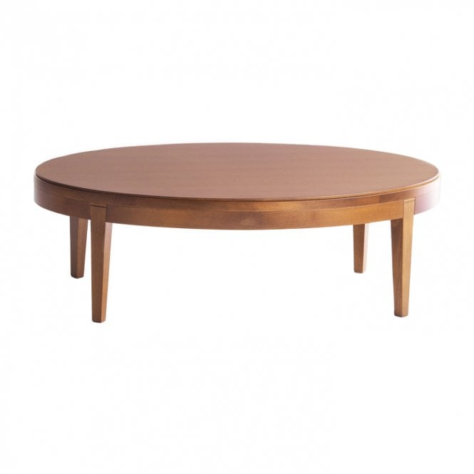 Toffee Round Coffee Table