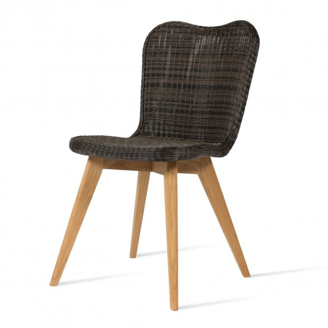 Lena Side Chair - Teak Base