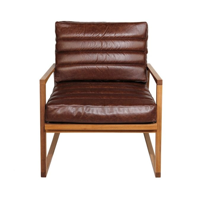 York Fluted Lounge Chair