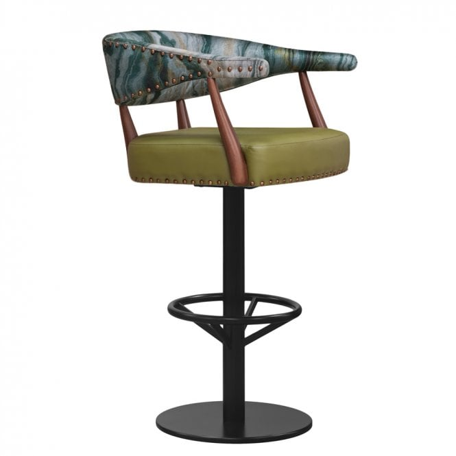 Maria Central Pedestal Bar Stool