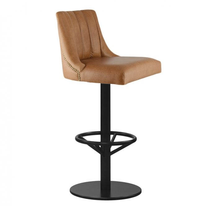 Manaus Central Pedestal Bar Stool