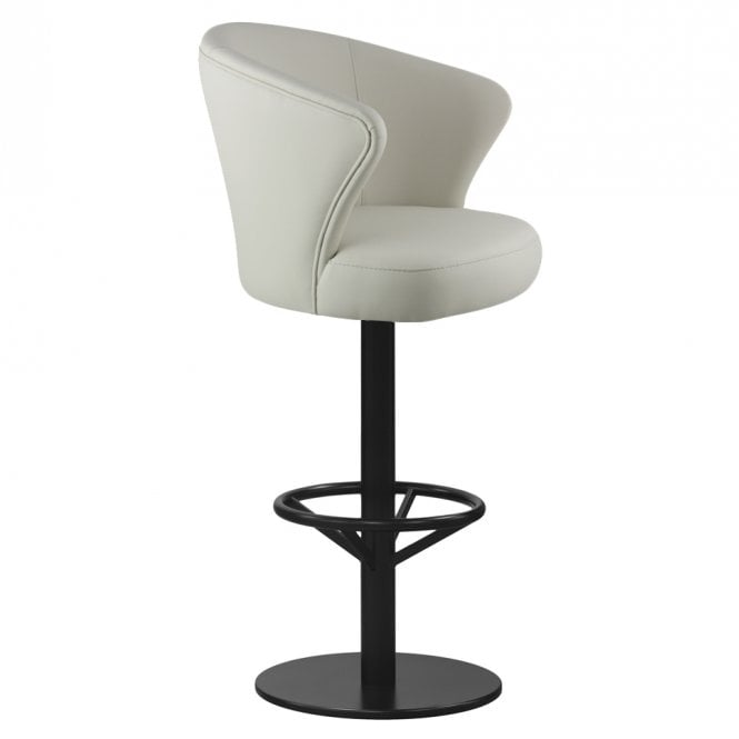 Flint Central Pedestal Bar Stool