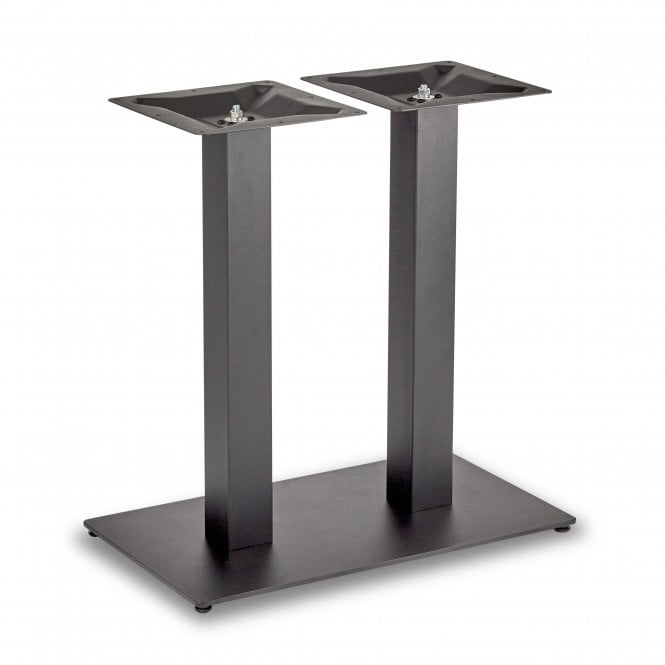 Hugo Square Twin Dining Height Table Base