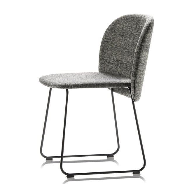 Chips Side Chair - Metal Legs