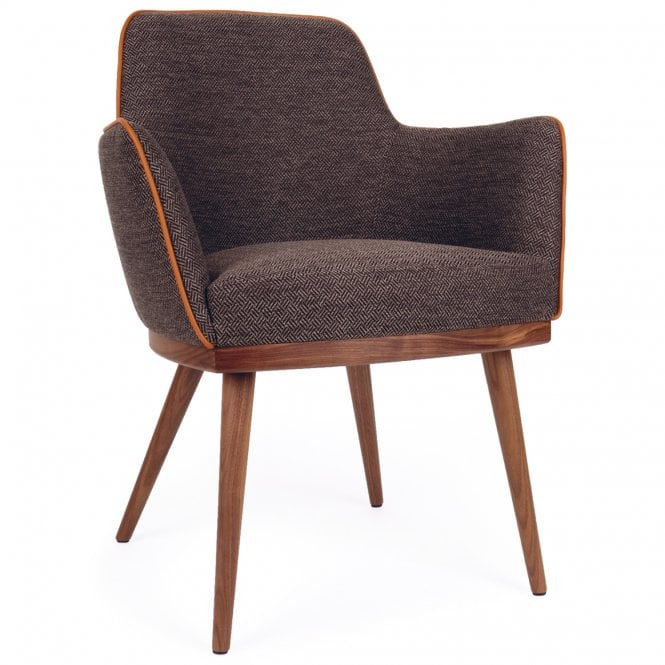 Glow Wooden Ring Armchair