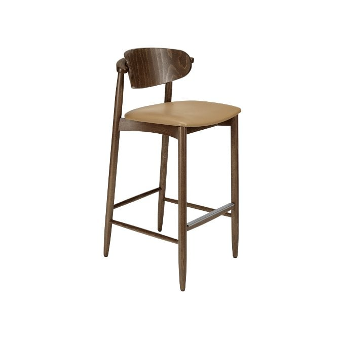 Joanne Bar Stool with Back Pad
