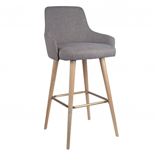 Camden High stool - Lacquered Legs