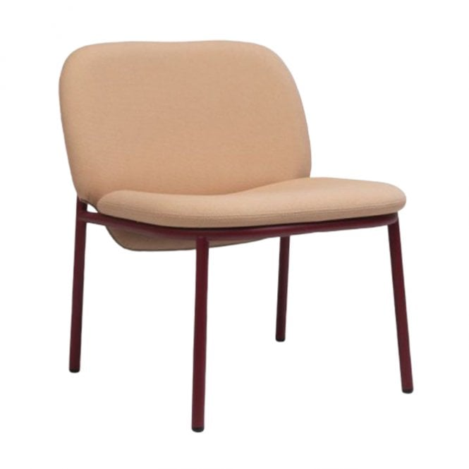 Lana Steel Low Back Lounge Chair