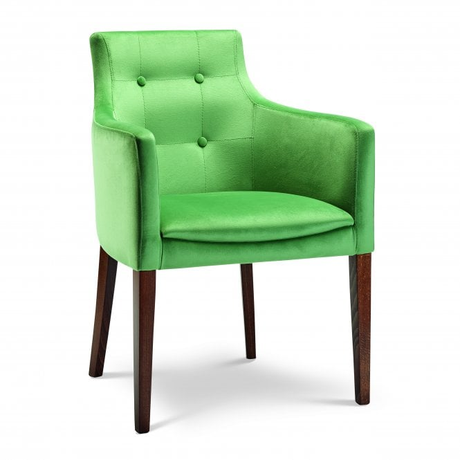 Nina Buttoned Back Armchair