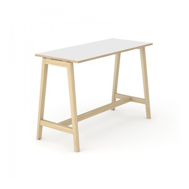 Versa Wood Breakout Poseur Desk