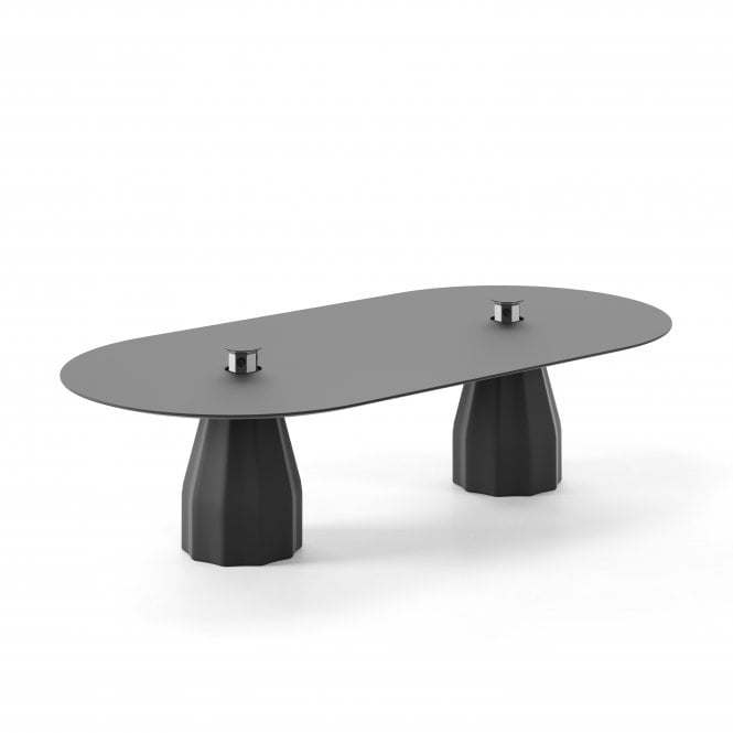 Burin Oval Table