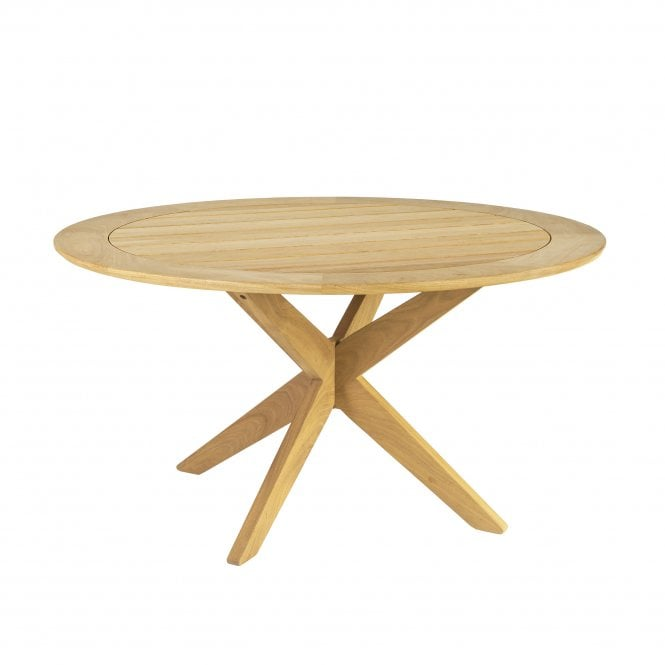 Roble Round Cross Base Table