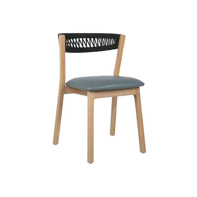 Even Cord Upholstered Side Chair
