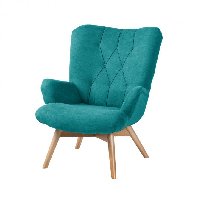 Malmo Lounge Chair - Wooden Legs