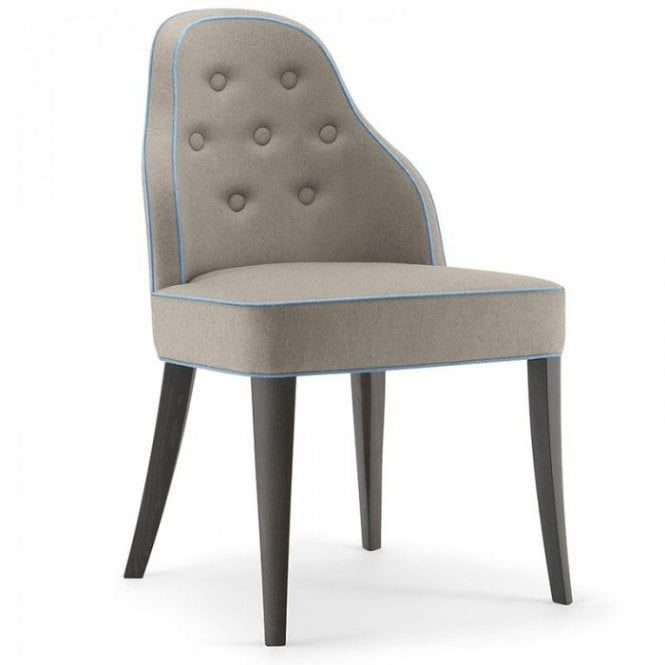 Chicago side chair - Deep Buttoned upholstered