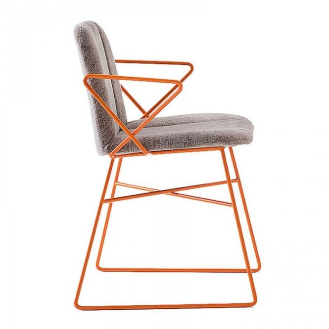 Hippy Metal Arm Chair