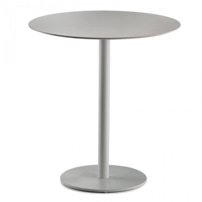 Hugo Round D1 table base - Aluminium