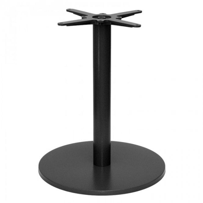 Hugo Round D2 table base - Black