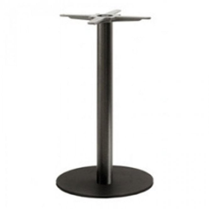 Hugo Round P3 table base - Black