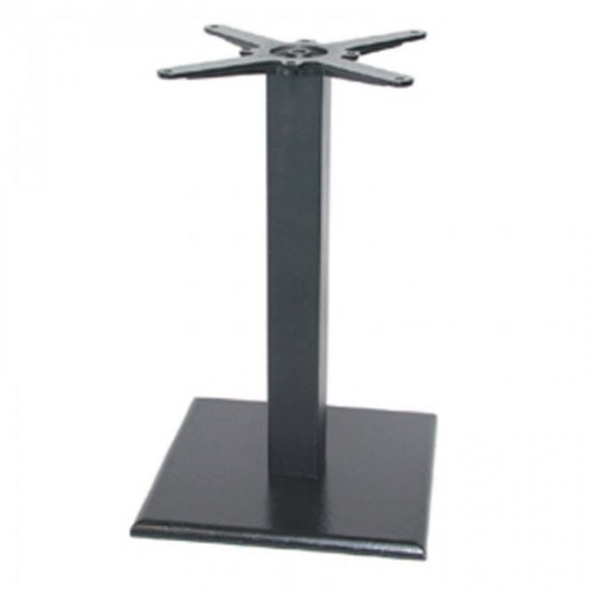 Hugo Square C1 table base - Black