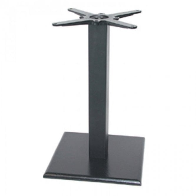 Hugo Square D1 table base - Black