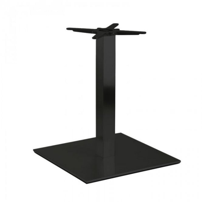 Hugo Square D2 table base - Black