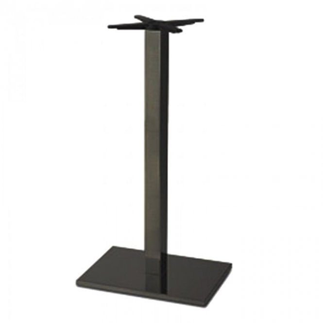 Hugo Oblong P3 table base - Black