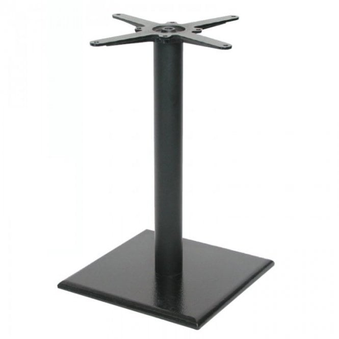 Hugo Square (RC) D2 table base - Black