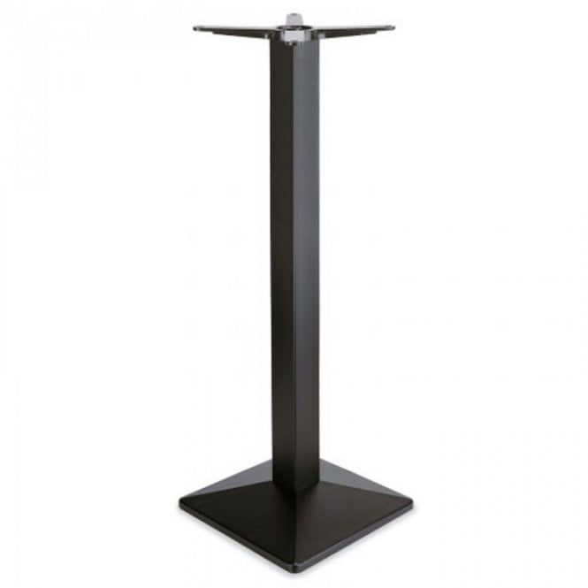 Lexis Square P1 table base - Black
