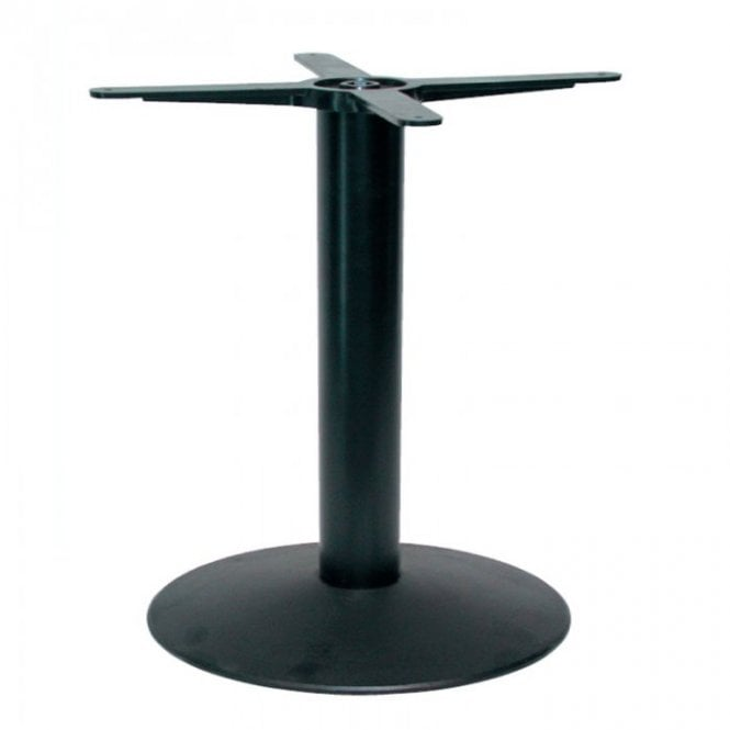 Napier Round C2 table base - Black
