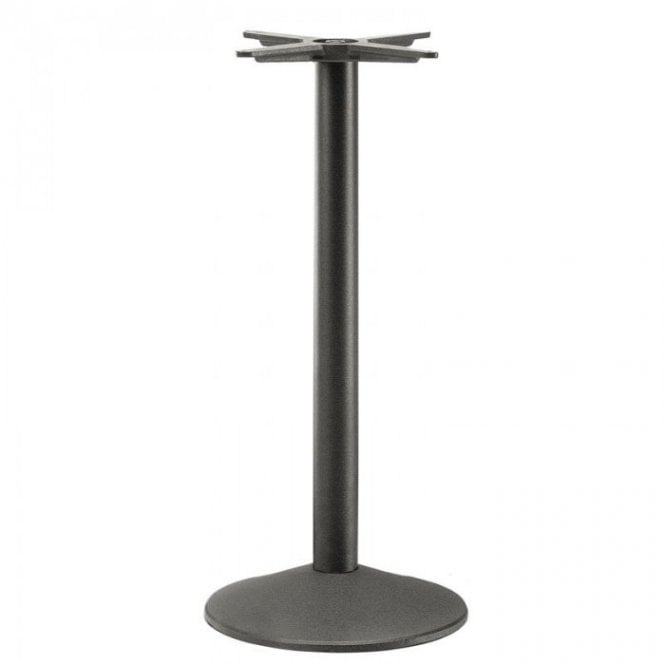 Napier Round P2 table base - Black