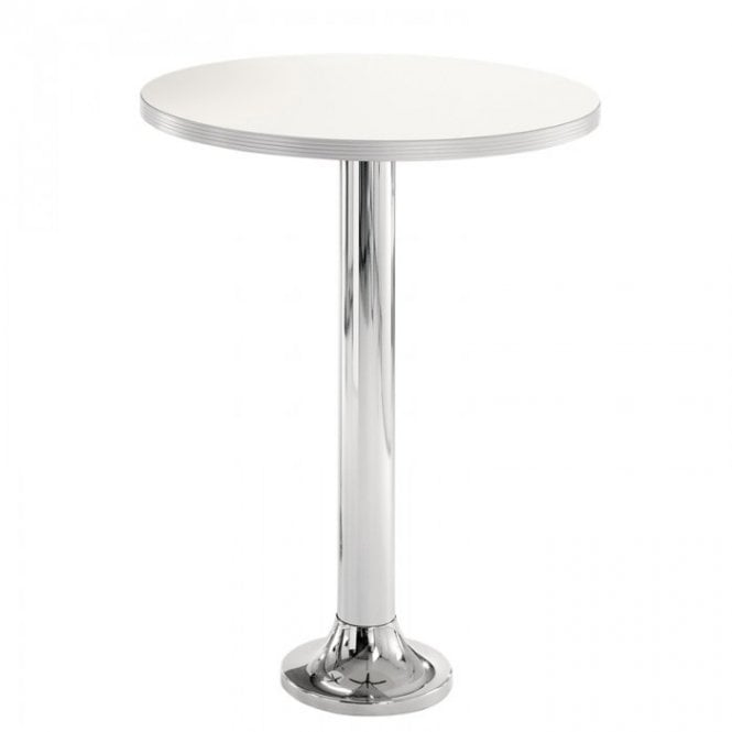 Permanent Napier D1 fixed table base - Chrome