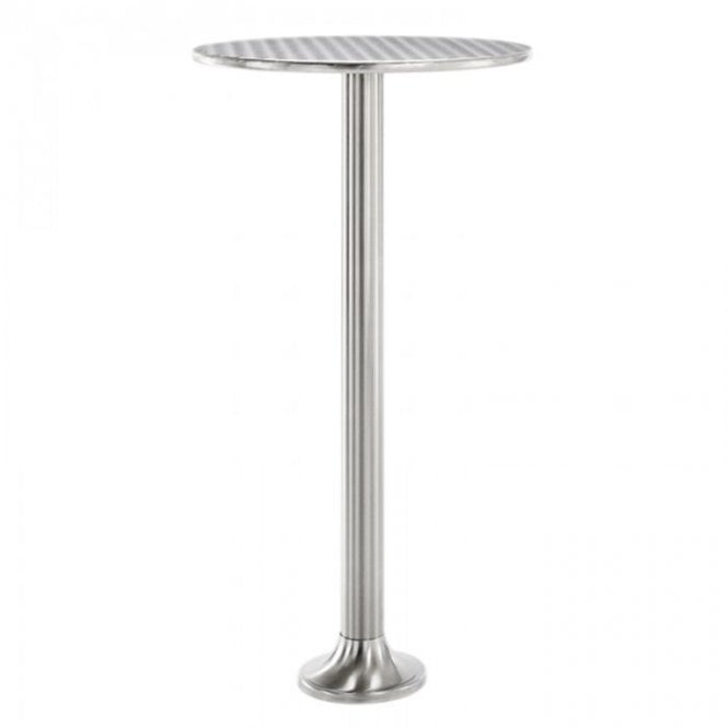 Permanent Napier P1 fixed table base - Chrome