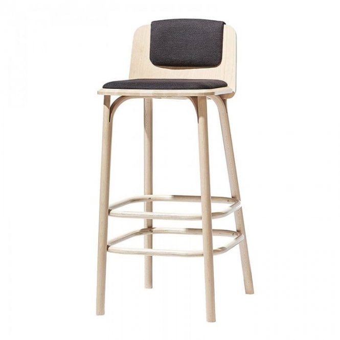 Split Upholstered Stool