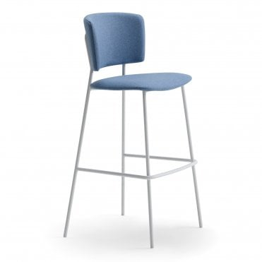 Wrap Steel 6C73 Bar Stool