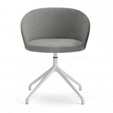 Marilyn Steel Swivel Armchair