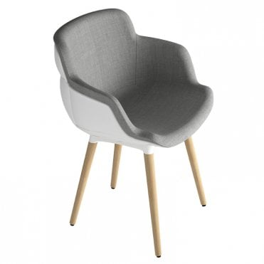 Choppy Sleek Arm Chair