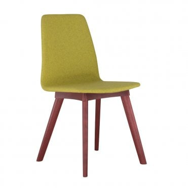 Tecla Soft Side Chair - Wood
