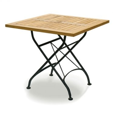 Terrace Teak Folding Table - Square