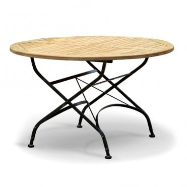 Terrace Teak Folding Table - Round